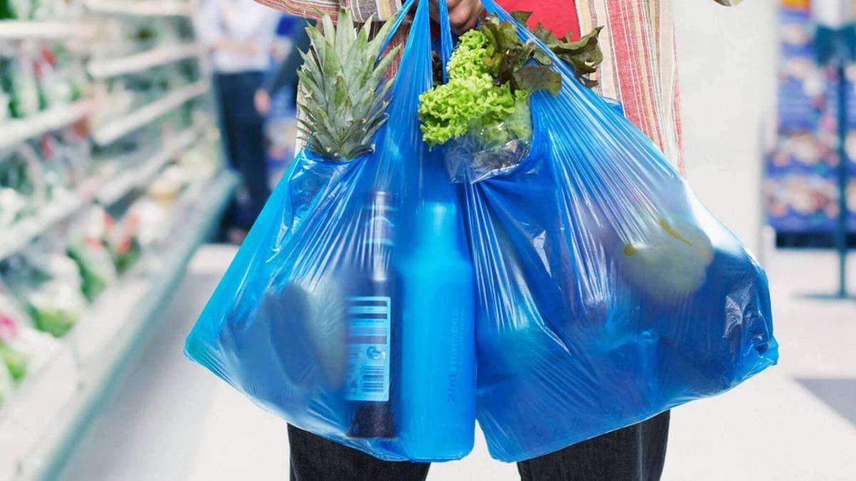 Запрет пластиковых пакетов в Украине - нардепы поддержали