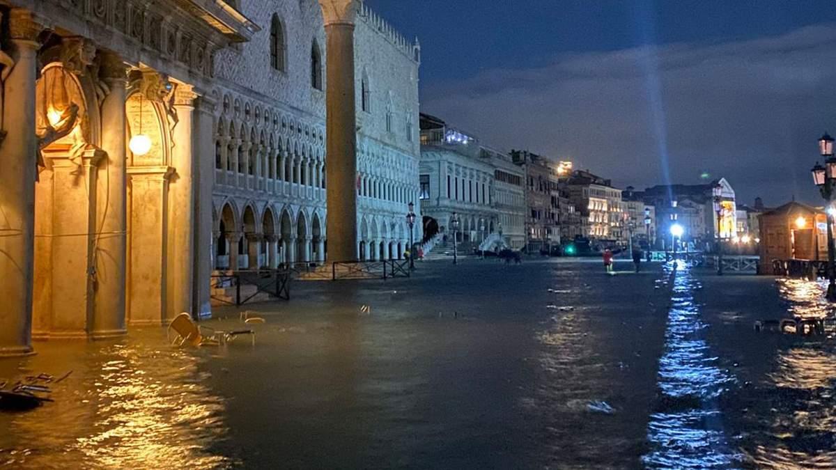 Венеция уходит под воду – фото и видео наводнения 2019