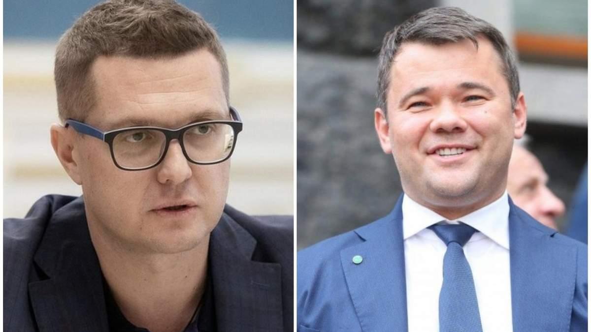 Ніякої бійки не було, – Баканов розповів про стосунки з Богданом