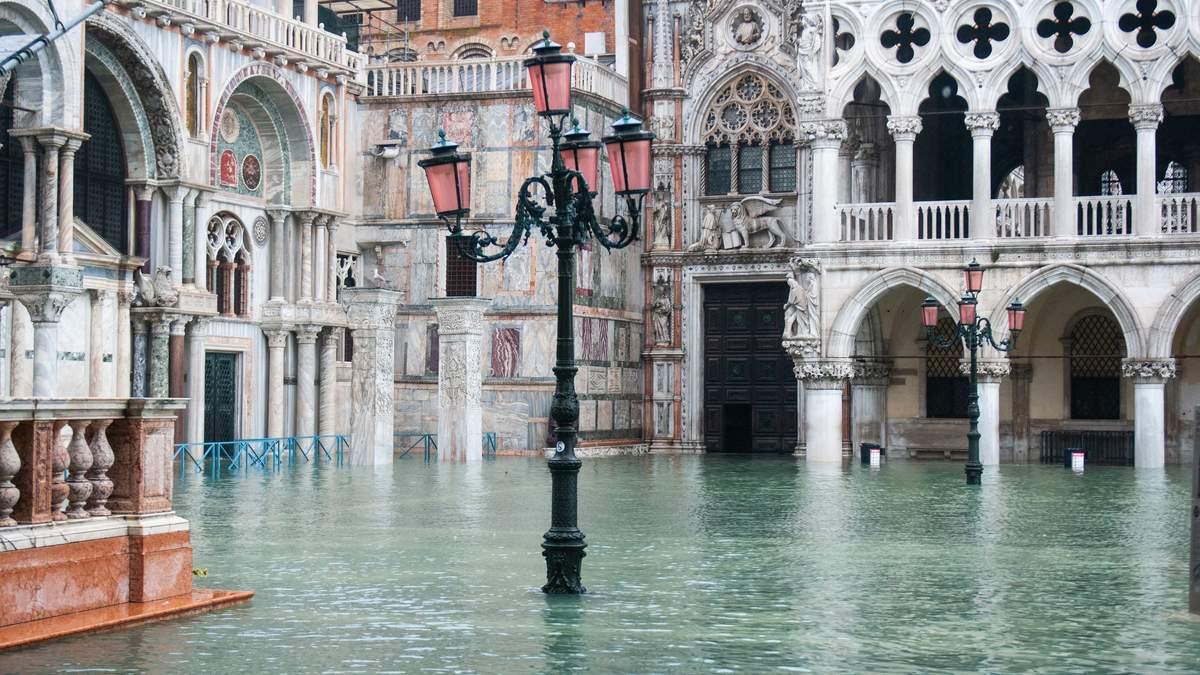 У Венеції через повінь оголосили надзвичайний стан