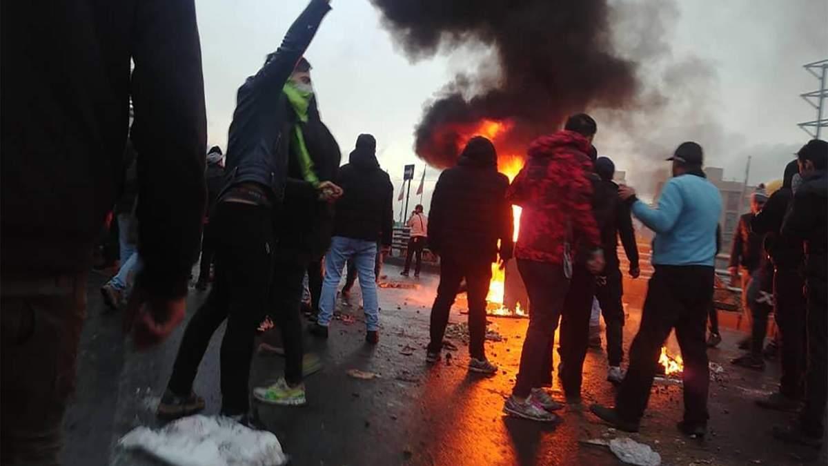 У Ірані тривають масштабні протести