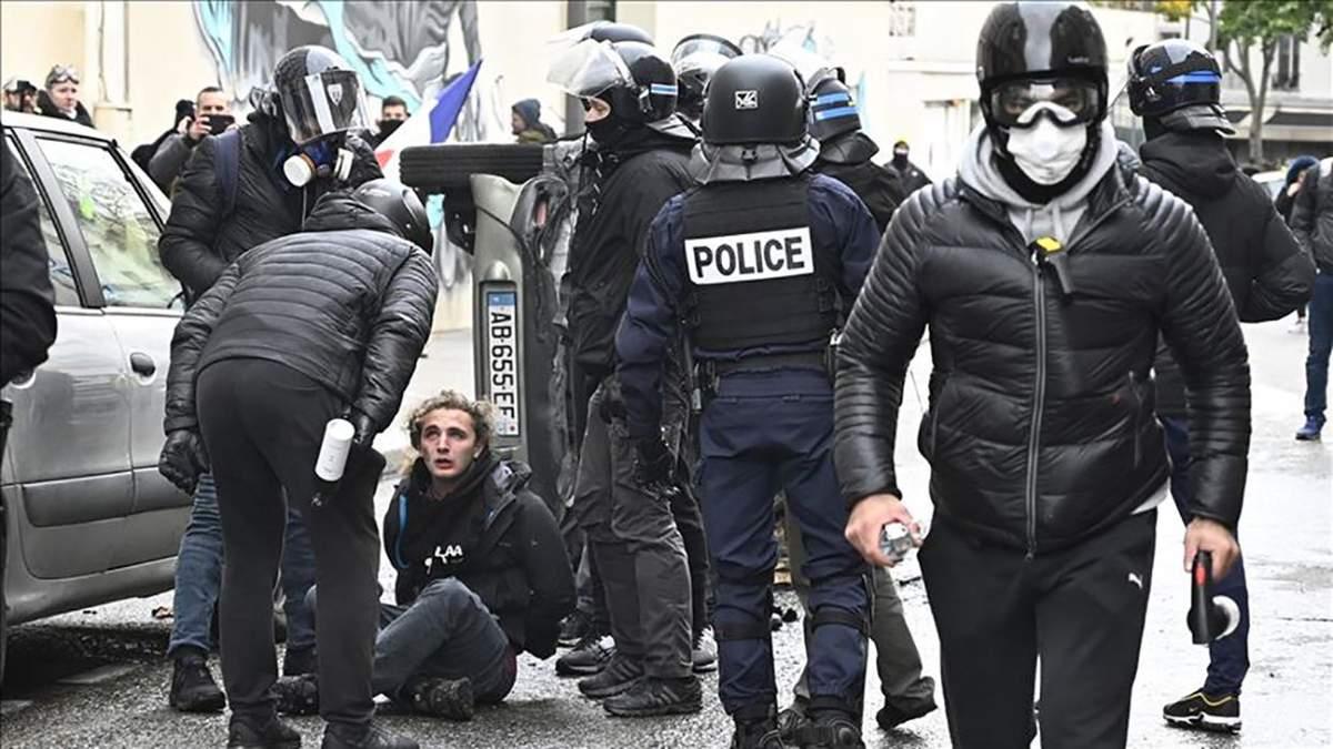 Новые задержания во Франции