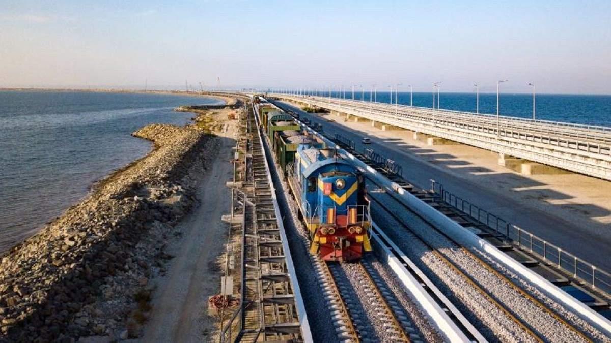 Окупанти хочуть запустити вантажні потяги до Криму вже з 1 червня 2020 року