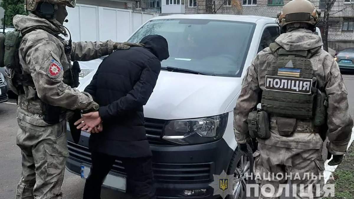 Полицейские провели спецоперацию в Житомире