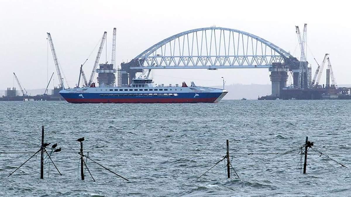 Грузовые паромы не будут ходить между аннексированным Крымом и Турцией