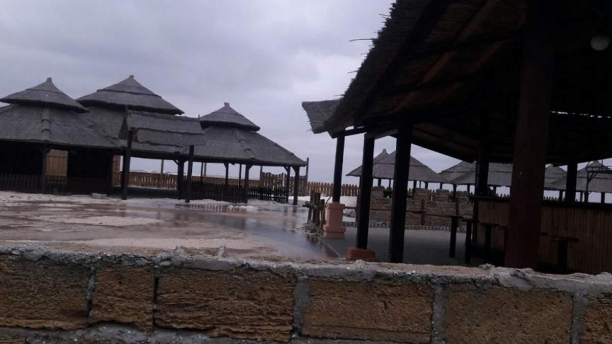 В Кирилловке прошел ураган