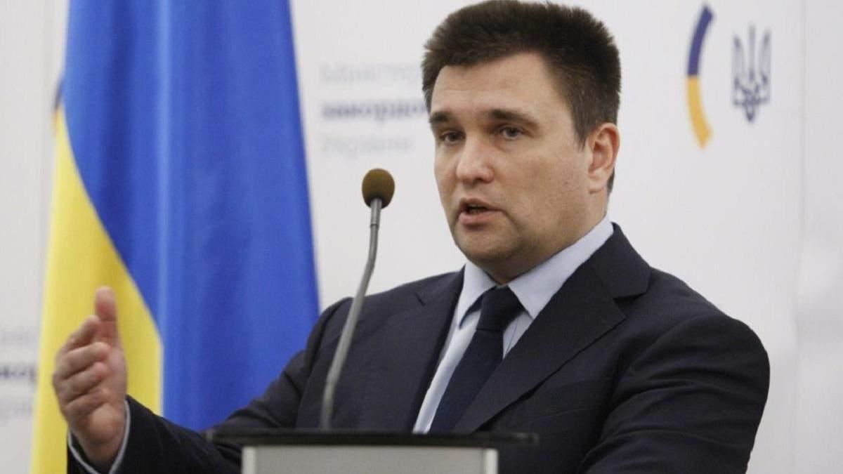 Климкин: Россия хочет весь Юг Украины, а не только Крым