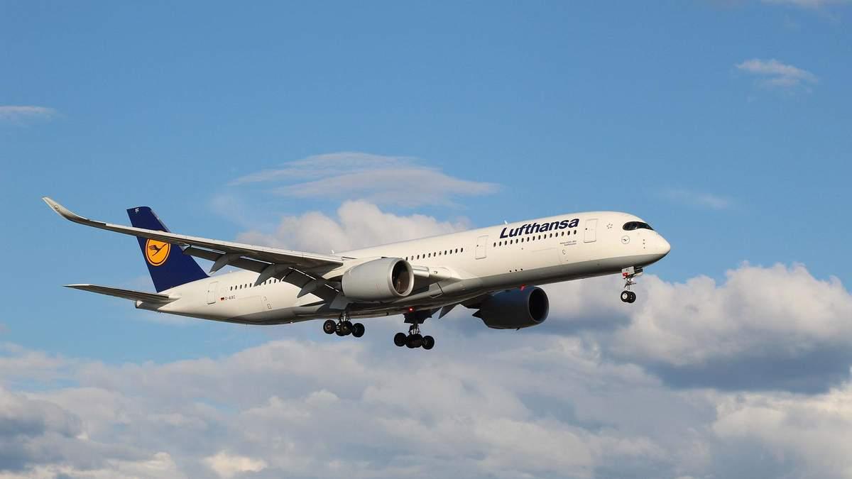 Програму з помилкою встановили на літаки Airbus A 350
