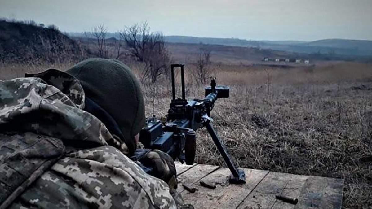 Бойовики продовжують обстріли позицій ЗСУ