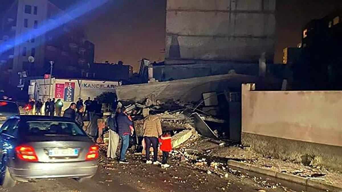Землетрясение в Тиране, Албании 26 ноября 2019 – видео, более 150 жертв от землетрясения
