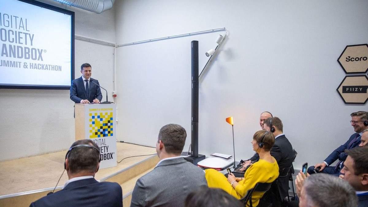 Зеленський в Естонії на форумі Digital Society Sandbox