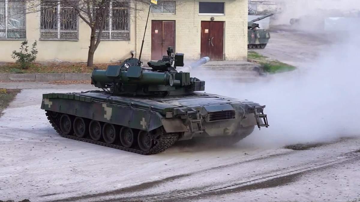 Випробування танка Т-80БВ