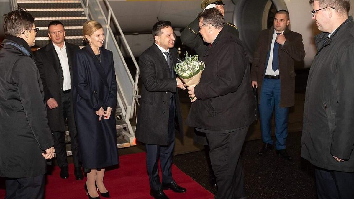Зеленский в Литве 27 ноября 2019 – встреча с Линас Линкявичюс