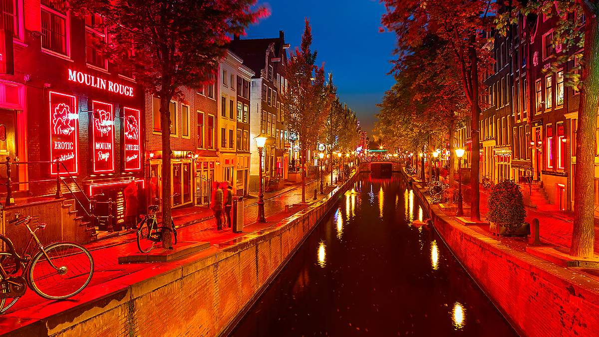 """Амстердам хоче позбутися """"Кварталу червоних ліхтарів"""""""