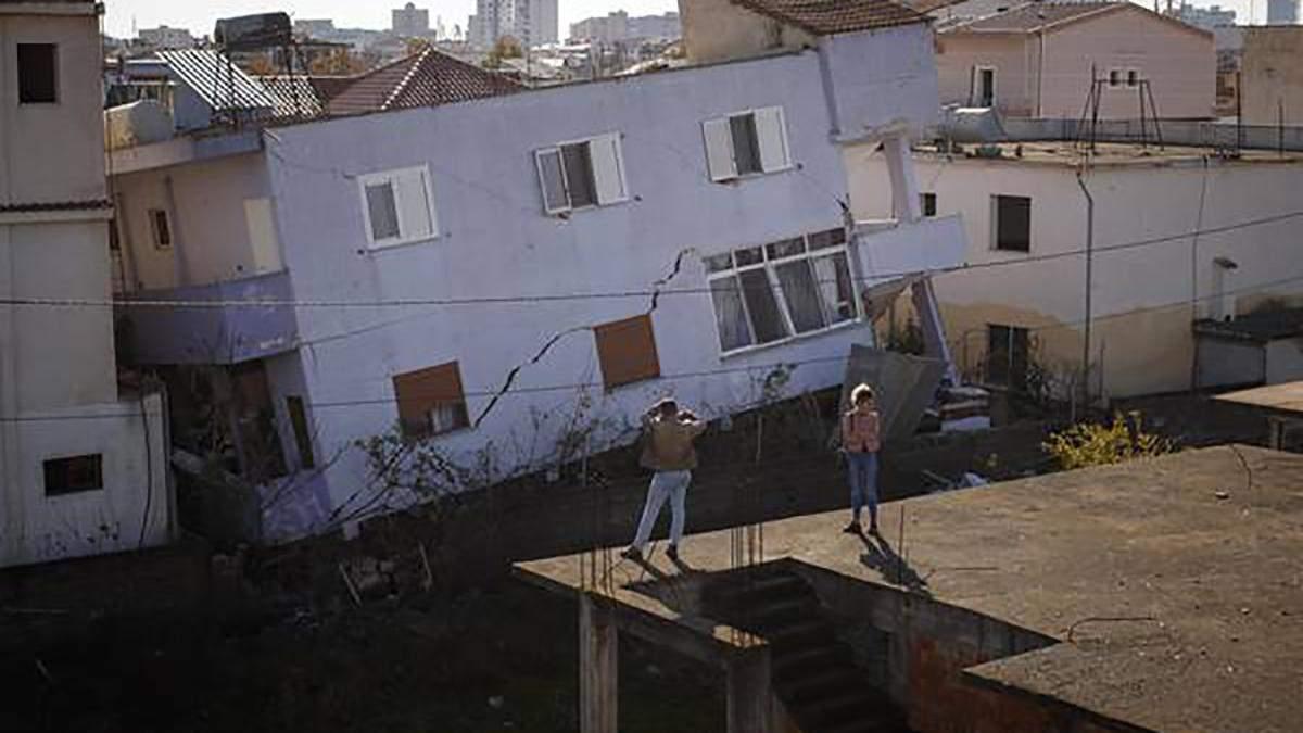 В Албанії знову стався потужний землетрус: фото