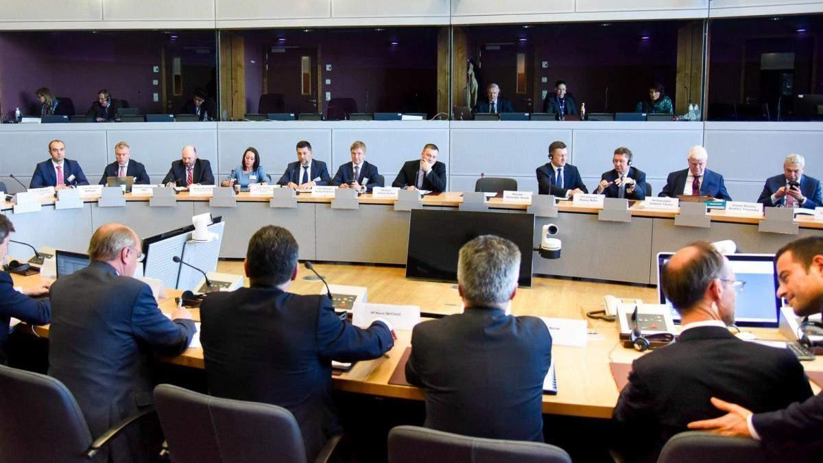 Переговори України і Росії про транзит газу в Відні
