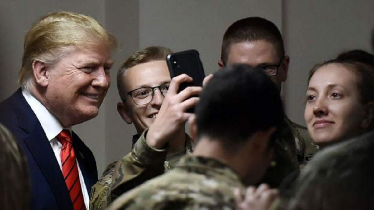 Дональд Трамп в Афганистане