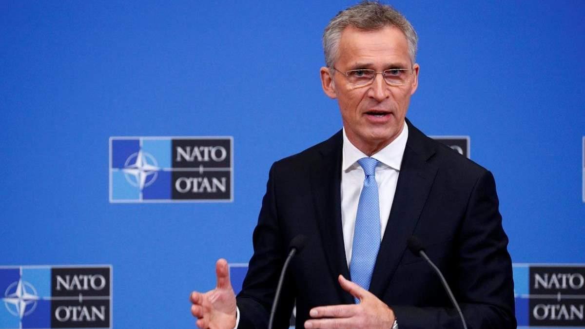 Столтенберг: НАТО продолжит оказывать практическую и политическую поддержку Украине
