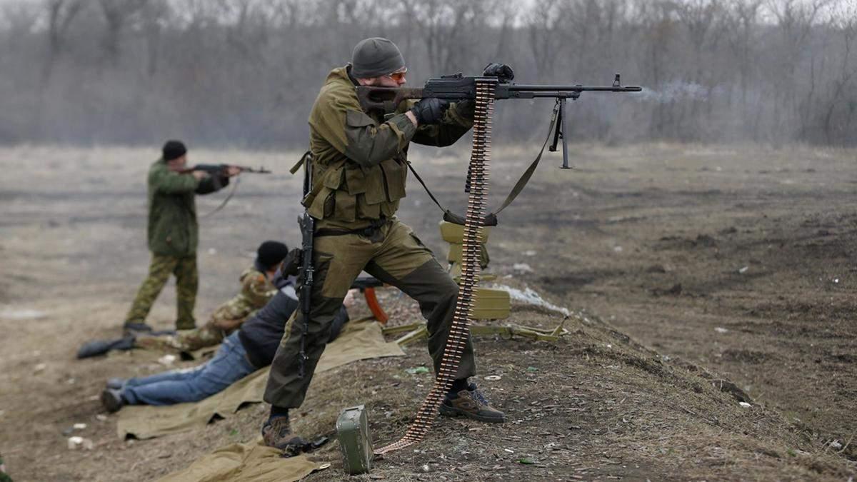Утром боевики обстреляли украинские позиции в районе Старогнатовки: к счастью, потерь нет (иллюстративное фото)