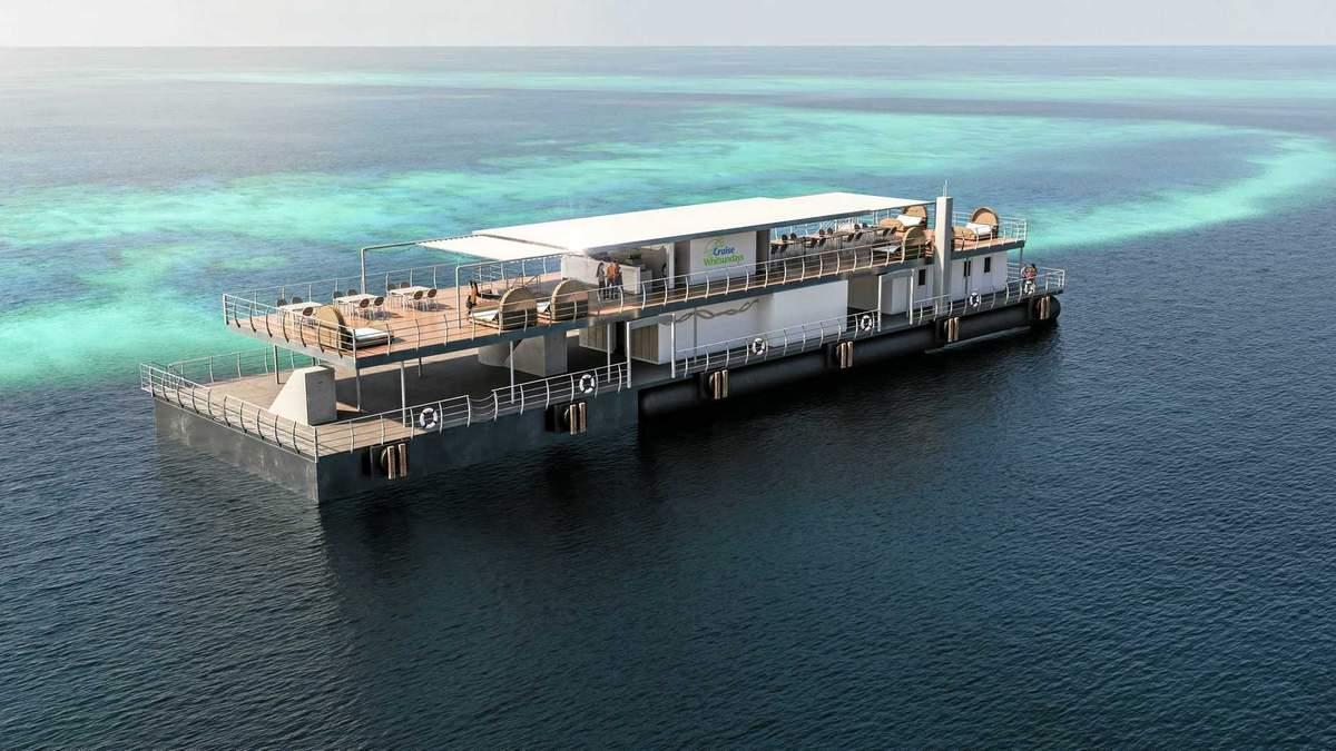 Подводный отель Reefsuites