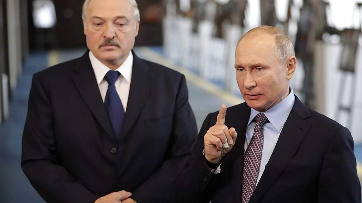 Створення єдиного уряду і енергоринку: про що домовилися Путін і Лукашенко