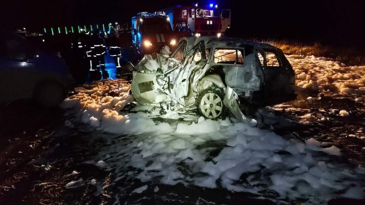 Авария произошла вблизи Черновцов