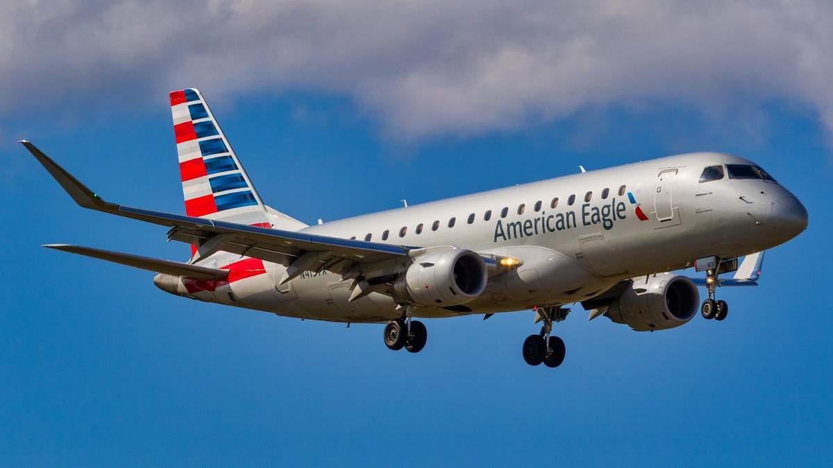Рейс здійснювала авіакомпанія American Eagle