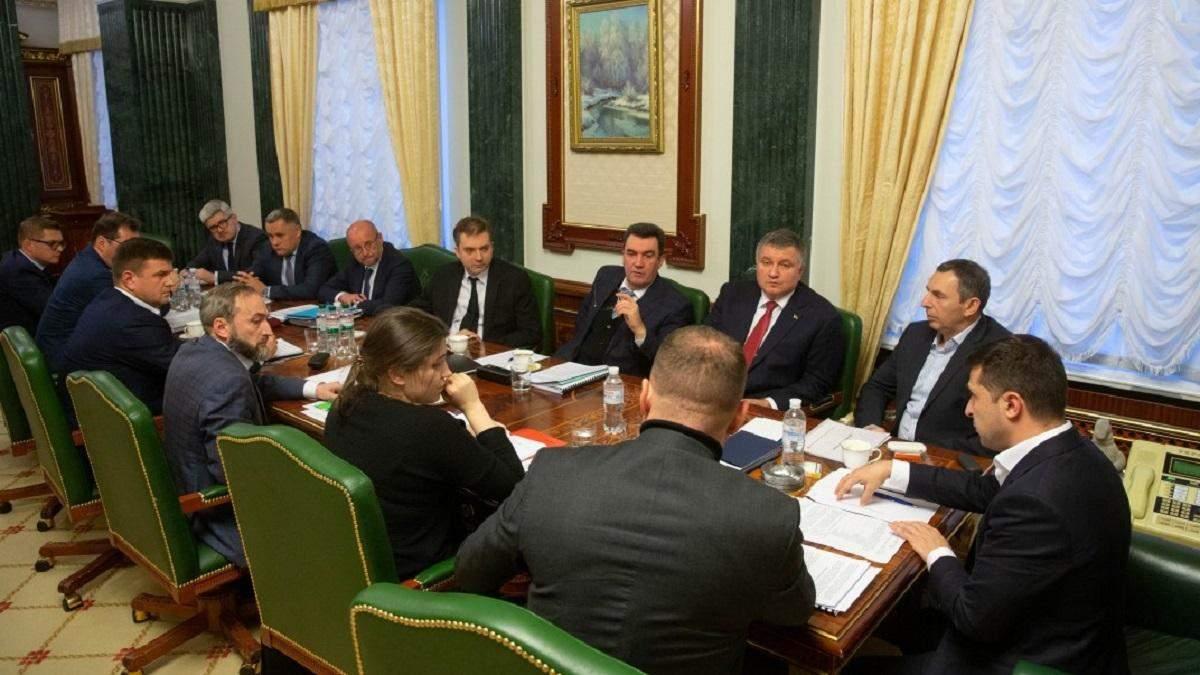 Перед нормандським самітом Володимир Зеленський проведе засідання РНБО