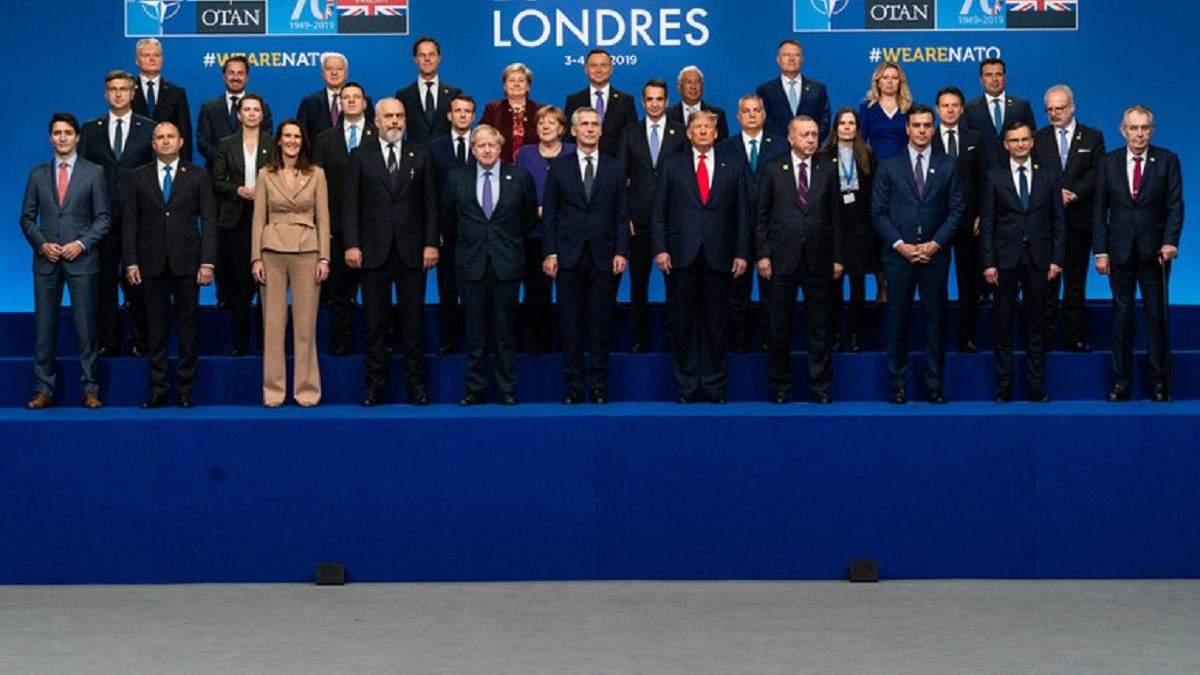 В Лондоне состоялся очередной саммит НАТО