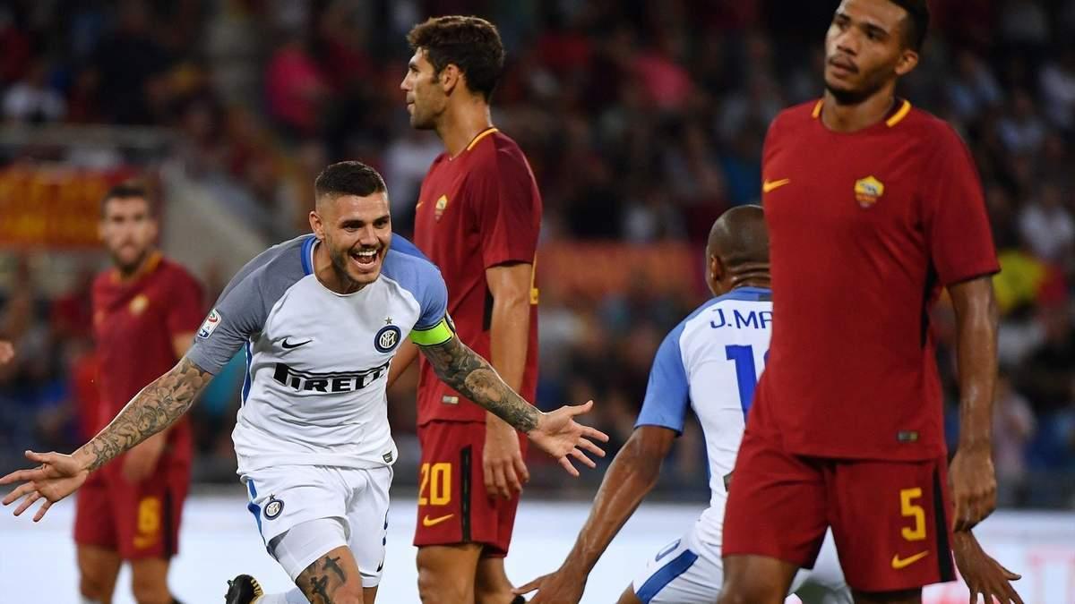 Футбол результат матчей интер рома
