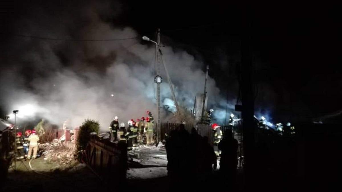 У Польщі рятувальники шукають 8 імовірних жертв вибуху