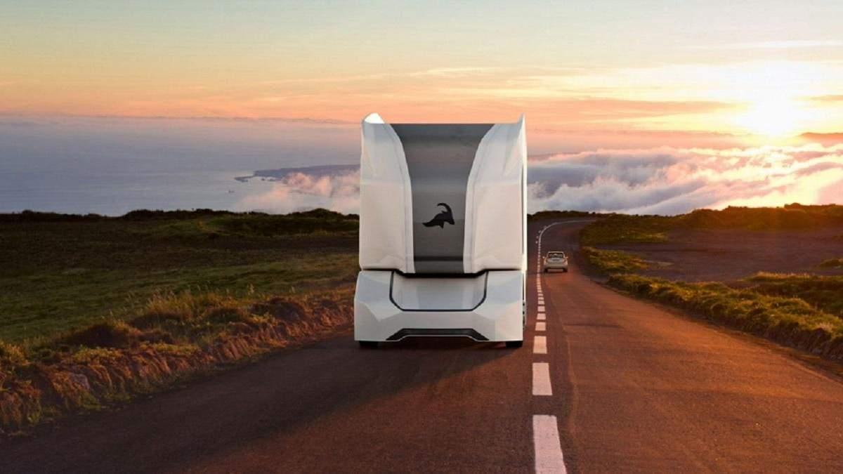 Автономный грузовик T-pod