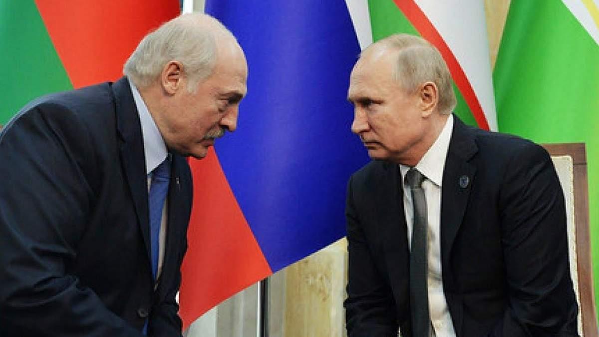 Лукашенко мовчки поїхав з резиденції Путіна: 5-годинна зустріч президентів завершилася нічим
