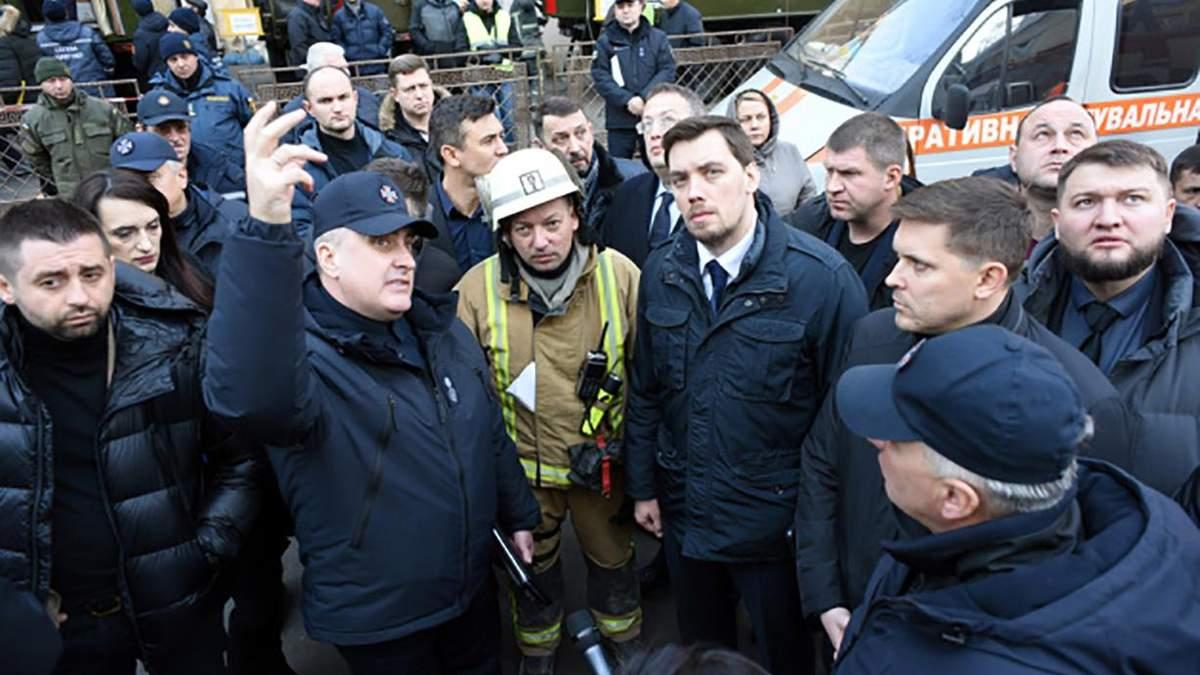 Гончарук в Одесі анонсував відставку чиновників: коледж 5 років не перевіряли на пожежну безпеку