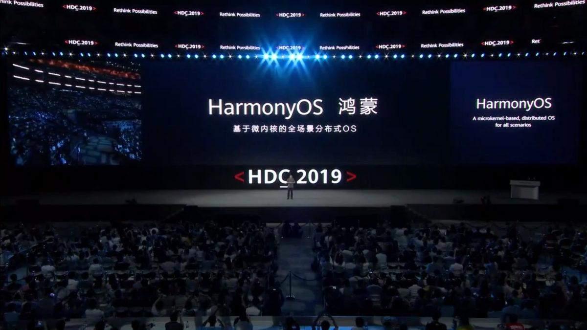 Смартфоны Huawei переходят на HarmonyOS