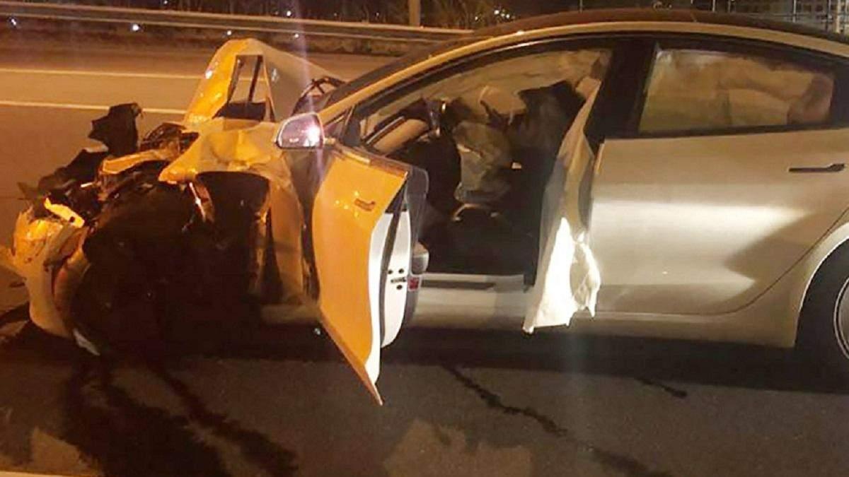 Автопилот Tesla снова попал в аварию