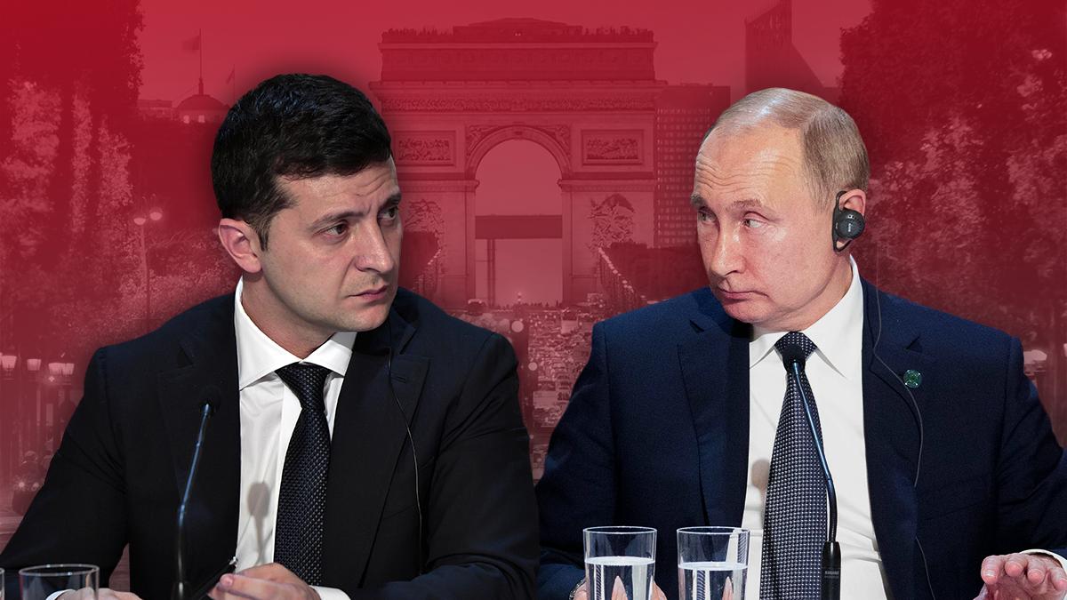 Нормандская встреча 9 декабря 2019 – Зеленский и Путин, нормандский формат