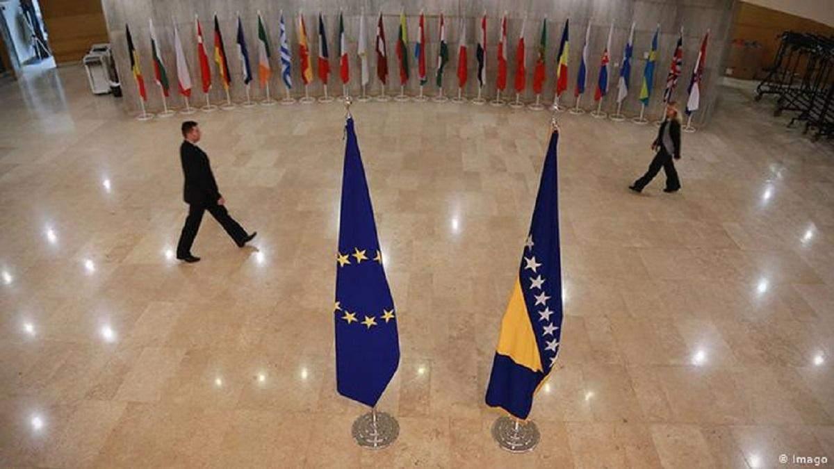 Боснія та Герцеговина поки не готова до членства в ЄС