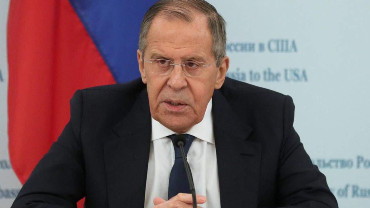Що Росія очікує від Зеленського: заява Лаврова після саміту в Парижі