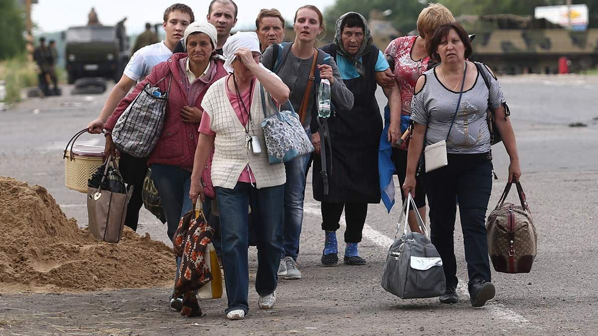 Кабмин выделил 13 миллионов гривен на временное жилье для переселенцев