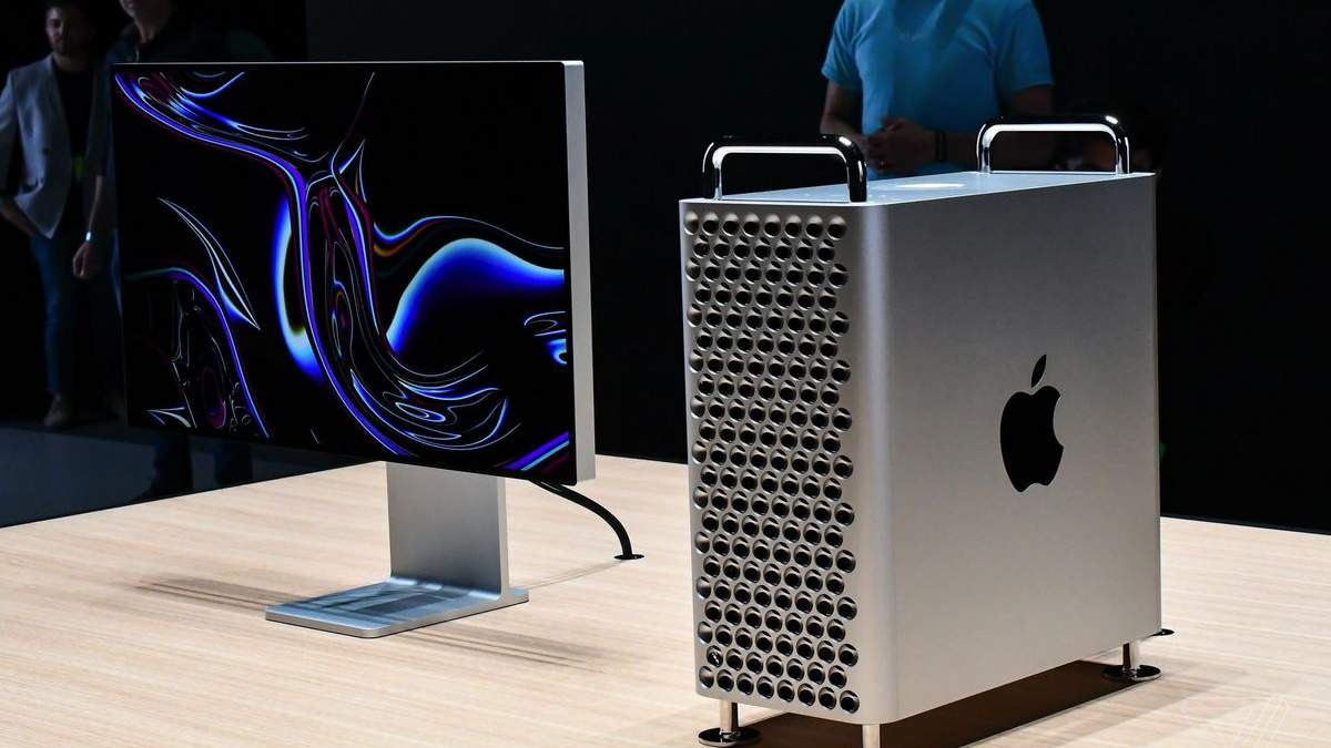Новый компьютер Apple Mac Pro (2019)