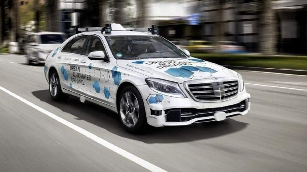 Робомобили Bosch и Daimler выедут на дороги