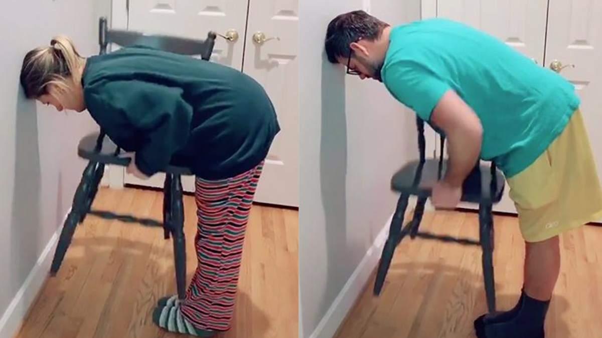 Chair challenge – що це за челендж зі стільцем, відео Chair challenge