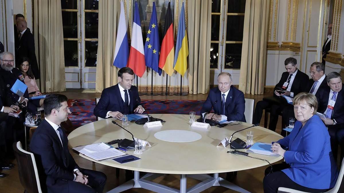 Нормандская встреча, декабрь 2019-го года