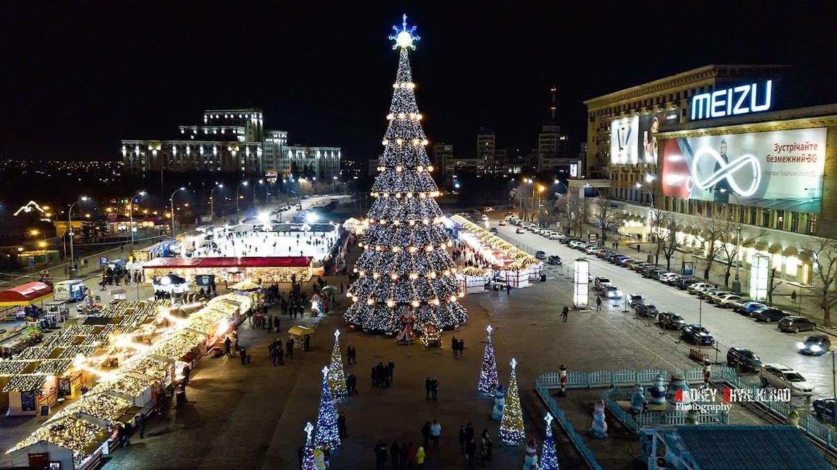 Новый год с шиком: в Харькове на подготовку к празднику потратили 75 миллионов гривен