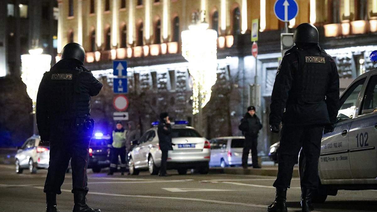 У результаті стрілянини в Москві загинули двоє працівників ФСБ