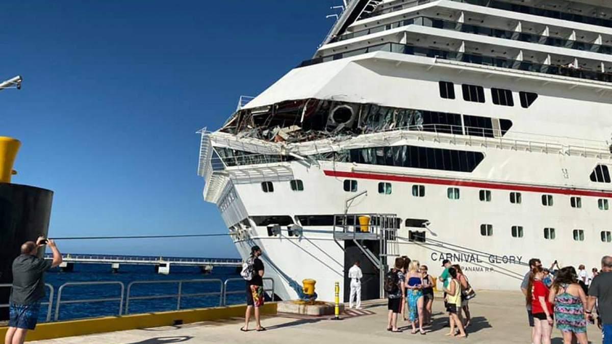 Величезні лайнери з пасажирами зіштовхнулись у Мексиці
