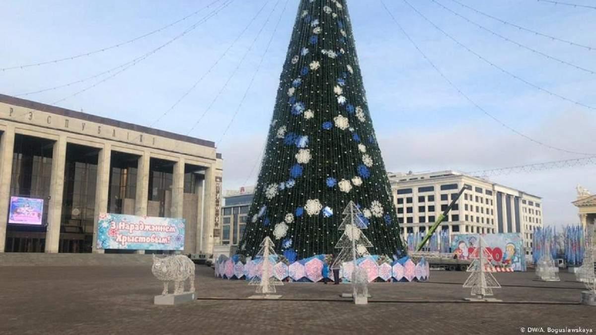 На мітинг за підтримку інтеграції Росії та Білорусі ніхто не прийшов