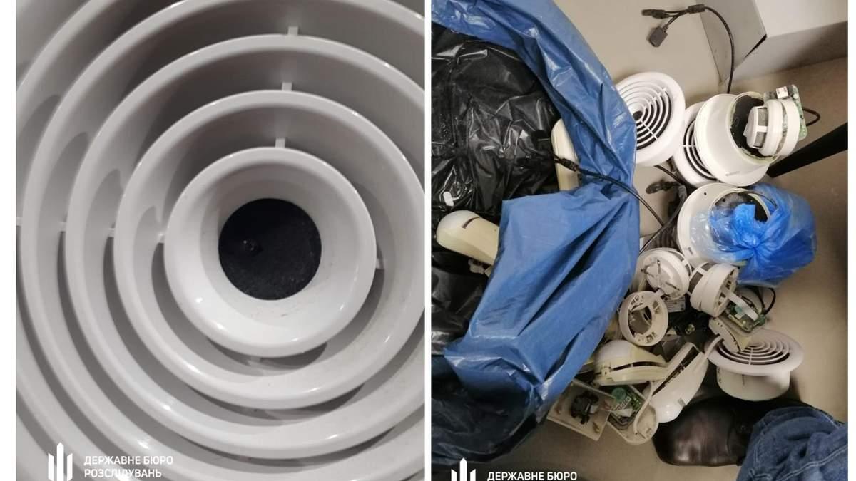 """ДБР виявило приховані камери у вентиляції роздягалень спортклубу """"5 елемент"""", який пов'язують із Порошенком"""