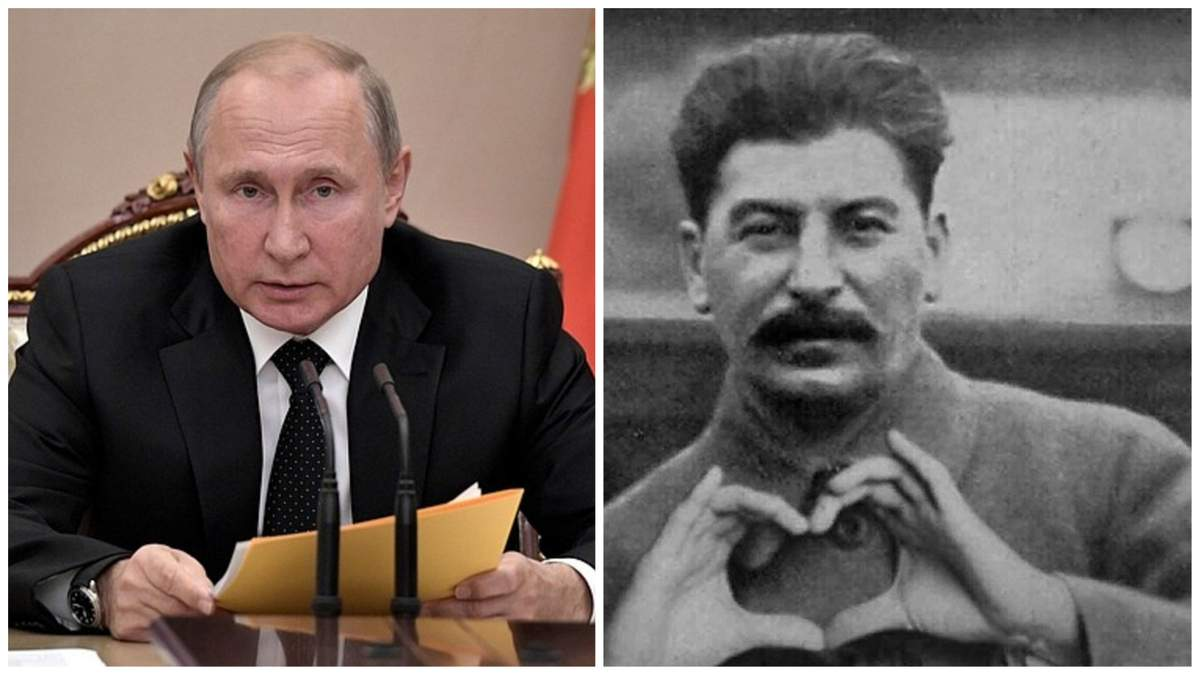 Путін вкотре показав свою любов до СРСР